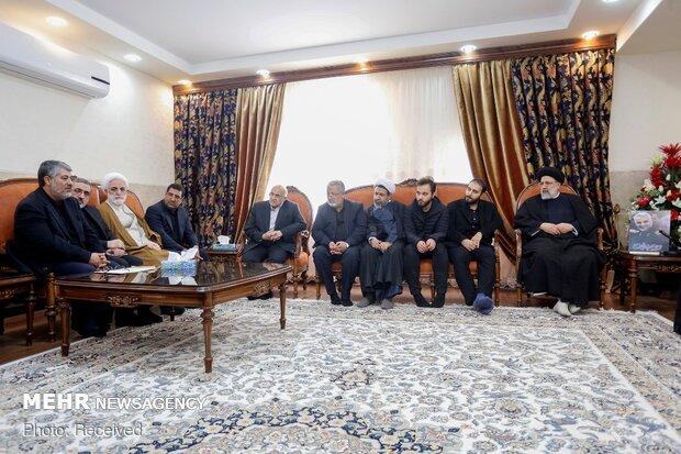 دیدار رئیس قوه قضائیه با خانواده «حاج قاسم»
