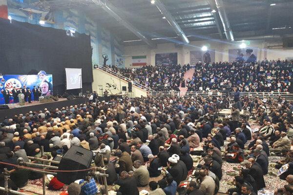 خرم آباد میں شہید قاسم سلیمانی کے حامیوں کا شاندار اجتماع