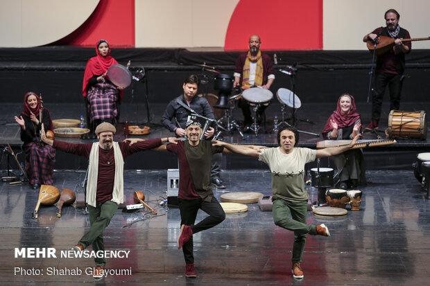 Contemporary folk band 'Rastak' performs at Vahdat Hall
