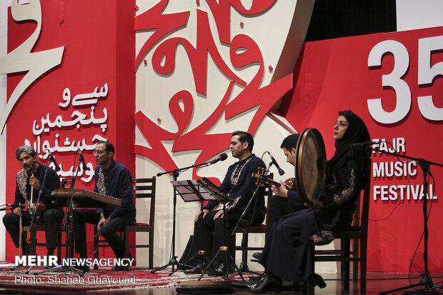 کنسرت گروه «خسروان» در جشنواره موسیقی فجر