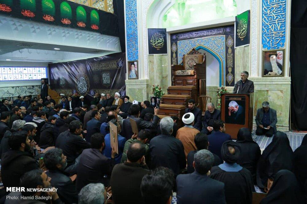 دیدار رئیس قوه قضاییه با خانواده جانباختگان حادثه کرمان