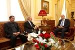 لاريجاني يلتقي رئيس مجلس النواب اللبناني