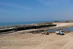 عملیات اجرایی مجموعه گردشگری شهید سلیمانی گناوه در دست اجرا است
