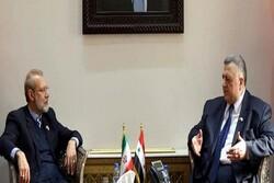 لاريجاني: راسخون في دعمنا لسوريا