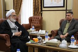 معاون دادستان کل عراق با حجت الاسلام والمسلمین منتظری دیدار کرد