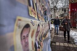 رشت میں پارلیمانی انتخابات کے سلسلے میں تبلیغات جاری