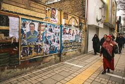 بجنورد میں پارلیمنٹ کے انتخابات کے سلسلے میں تبلیغات جاری