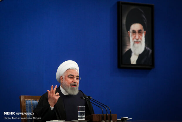Iran economy up by 3.6% despite sanctions, pandemic: Rouhani