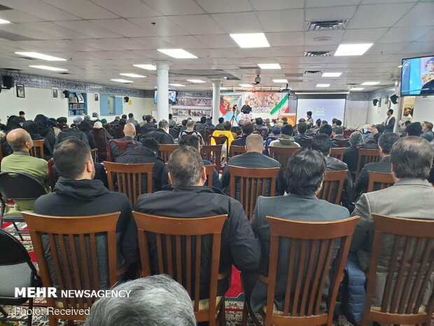 Commemoration ceremony of Gen. Soleimani's 40th day of martyrdom held in Canada