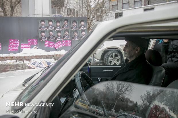 تبلیغات انتخابات در تبریز