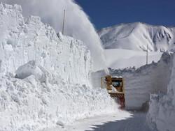 ۳۸ روستای استان کردستان در محاصره برف قرار دارند