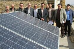 نیروگاه انرژی خورشیدی دانشگاه فنی و حرفهای سمنان افتتاح شد