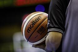 یک تیم داوری برای دو دیدار تیم ملی بسکتبال در کاپ آسیا