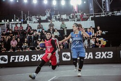 Iran 3x3 basketball