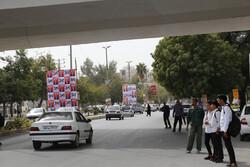 نصب بیش از ۸۰۰۰ جایگاه تبلیغاتی در سطح شهر اصفهان