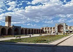 Ganjali Khan complex reminiscent of everyday life in 17th-century Iran