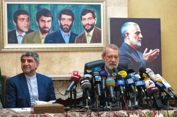 Iran resolved to help Lebanon in all domains: Larijani