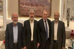 دیدار معاون وزیر خارجه روسیه با «خالد مشعل»