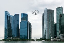 راه اندازی تاکسی هوایی در جنوب شرق آسیا توسط ولوکوپتر