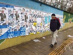 قزوین میں پارلیمنٹ کے انتخابات کے سلسلے میں تبلیغات جاری