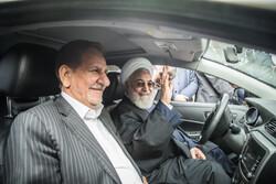خودروهای جدید تولید داخل در حاشیه جلسه هیات دولت