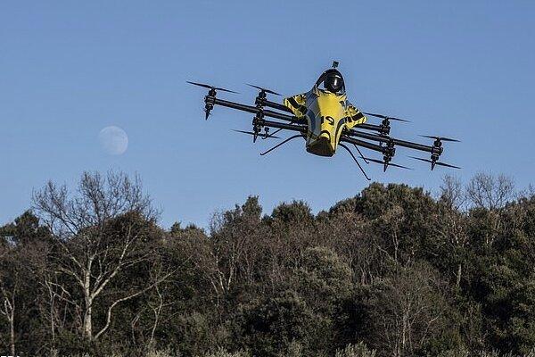 ایک مسافر بردار ڈرون کا تجربہ