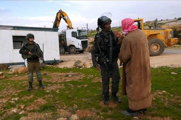 فلسطینی علاقوں پر اسرائیل کا غاصبانہ قبضہ  جاری