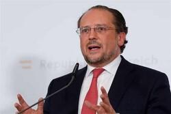 وزیر خارجه اتریش حامل پیام اتحادیه اروپا درباره برجام خواهد بود