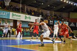 تیم ملی بسکتبال ایران مقابل قطر پیروز شد