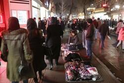 شلوغی بازار تبریز در روزهای اوج کرونا