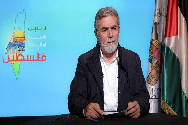 Nakhalah praises Martyr Soleimani's major role in boosting Palestinian resistance