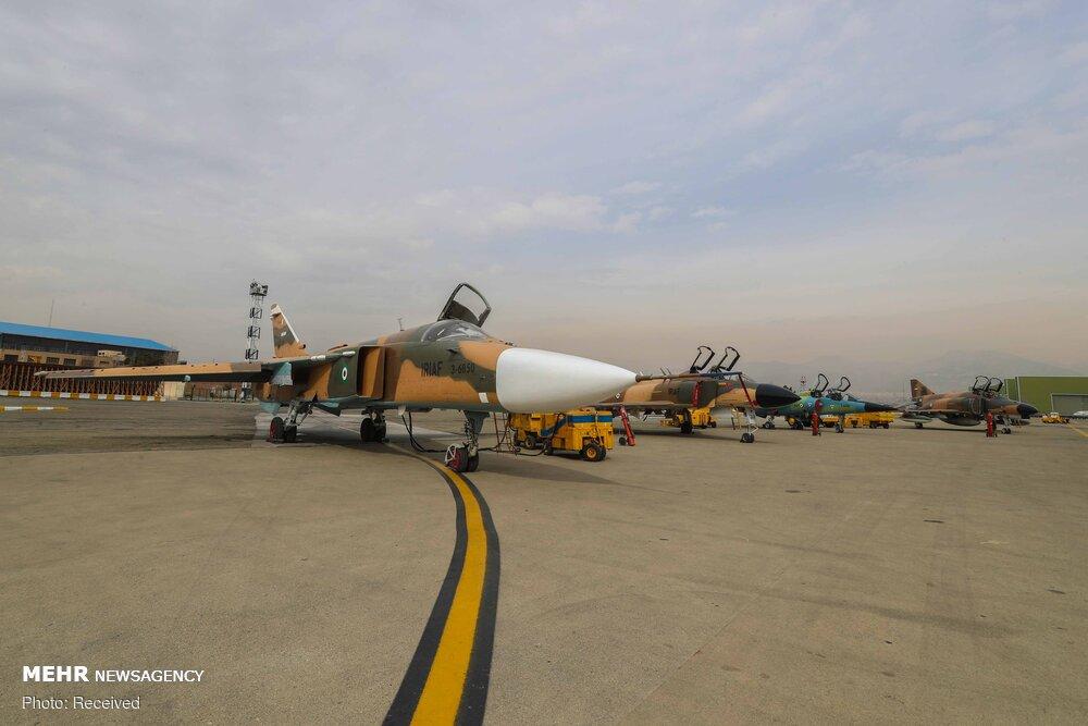 تحویل ۸ فروند هواپیمای نظامی بازآمد سازی شده به نیروی هوایی