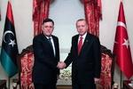 دیدار غیرمنتظره «اردوغان» و «فائز السراج» در استانبول