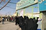 حضور پرشور مردم خراسان جنوبی در پای صندوق های رای
