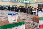 حضور مردم کرج در شعب اخذ رای