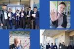 حضور پرشور مردم شهرستان فارسان در انتخابات