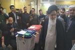 حضور امام جمعه مشهد در انتخابات مجلس شورای اسلامی