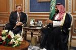 «مایک پمپئو» با ولیعهد عربستان دیدار کرد