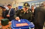 برقراری امنیت کامل در شعب اخذ رأی گلستان