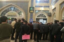 مسجد لرزادہ میں انتخابات میں عوام کی بھر پور شرکت