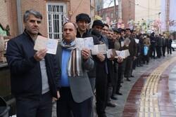 ایران میں گیارہویں پارلیمنٹ کے انتخابات میں ووٹنگ کا سلسلہ جاری