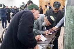 صف شهریاری ها در شعب اخذ رای
