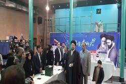 سید حسن خمینی رای خود را به صندوق انداخت