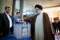 ایرانی عدلیہ کے سربراہ نے اپنا ووٹ کاسٹ کیا