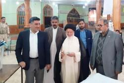 امام جمعه و فرماندار شادگان رأی خود را به صندوق انداختند