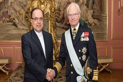 New Iranian envoy presents credentials to Sweden's King