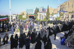 صوبہ کرمان میں عوام کی انتخابات میں بھر پور شرکت