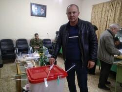 اقلیت های مذهبی گلستان پای صندوق های رأی حضور یافتند