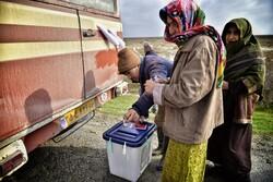 صناديق اقتراع متنقلة لسكان المناطق الحدودية