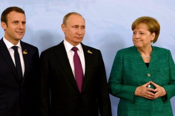 Putin, Merkel ve Macron İran'ı görüştü